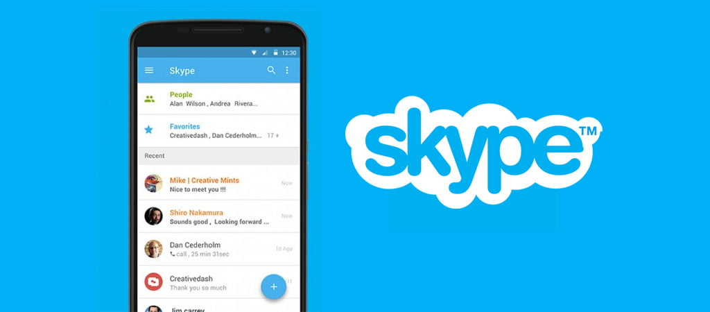 Skype Messenger best alternative to Whatsapp